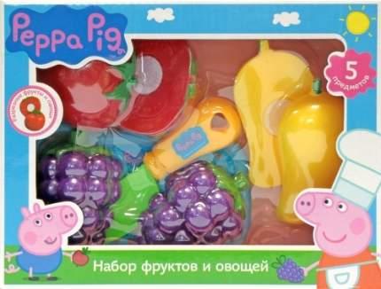 Игровой набор фруктов и овощей Росмэн Peppa Pig, 5 предметов, 29888
