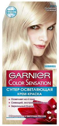 Краска для волос Garnier Color Sensation, тон №111 Ультра блонд платиновый