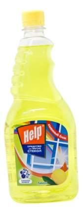 Чистящее средство для мытья стекол Help лимон 500 мл