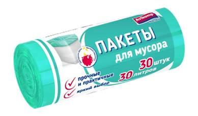 Мешок для мусора Praktisch 30 л 30 шт в рулоне