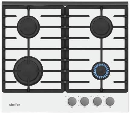 Встраиваемая варочная панель газовая Simfer H60L41W511 White