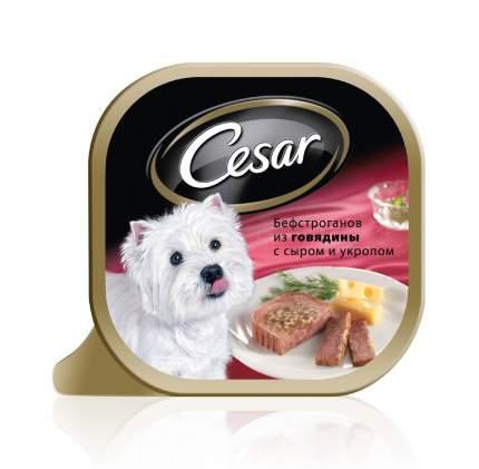Консервы для собак Cesar, говядина, 100г
