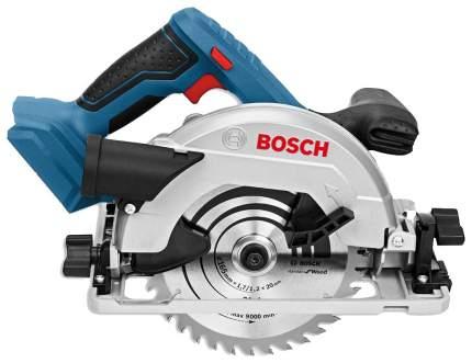 Аккумуляторная циркулярная пила Bosch GKS 18V-57 06016A2200 БЕЗ АККУМУЛЯТОРА И З/У