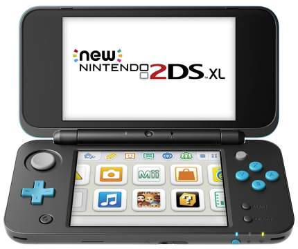 Портативная игровая консоль Nintendo 2DS XL Black/Turquoise
