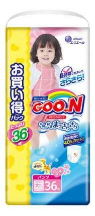 Трусики-подгузники Goo.N Ultra Jumbo Pack XXL (13-25 кг), 36 шт.