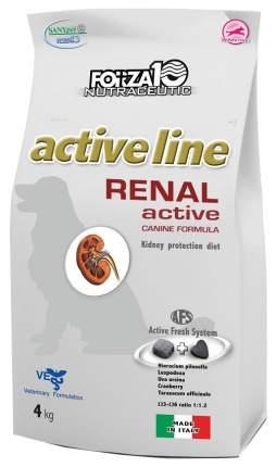 Сухой корм для собак Forza10 Active Line Renal, рыба, 4кг