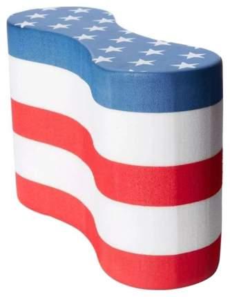 Колобашка для плавания TYR Pull Float USA LPFUSA белая/красная