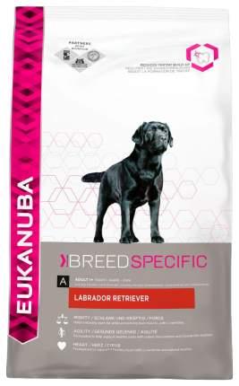 Сухой корм для собак Eukanuba Adult Breed Specific, лабрадор и ретривер, птица, 12кг