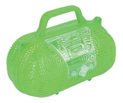 Переноска для грызунов Triol зеленый пластик 16x8.5x14 cм