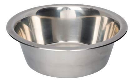 Одинарная миска для кошек и собак TRIXIE, сталь, серебристый, 1.8 л