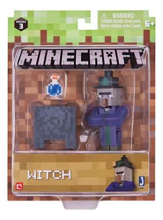 Игровой набор Jazwares Minecraft Ведьма с аксессуарами