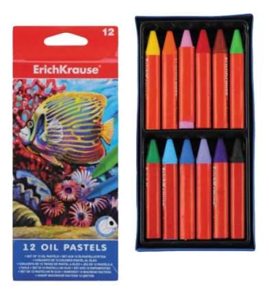 Восковые мелки ErichKrause 12 Oil Pastels