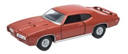 Коллекционная модель Welly Pontiac GTO 1:34