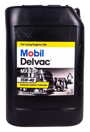 Моторное масло Mobil Delvac 15w-40 20л