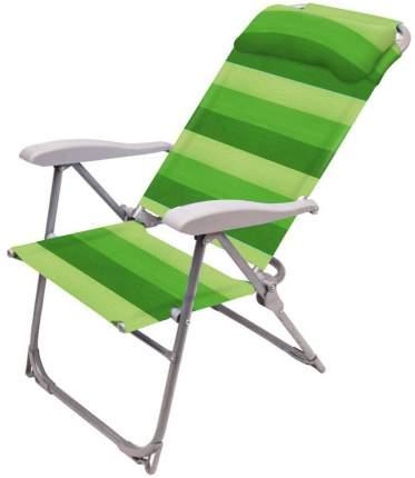 Кресло-шезлонг НИКА 2 складное К2 Зелёный