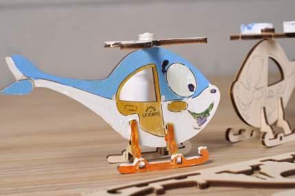 Конструктор-раскраска UGEARS Вертолёт