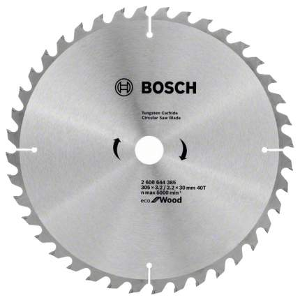 Диск по дереву Bosch ECO WO 305x30-40T 2608644385