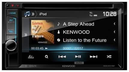 Автомобильная магнитола Kenwood DDX4017BTR 4x50Вт