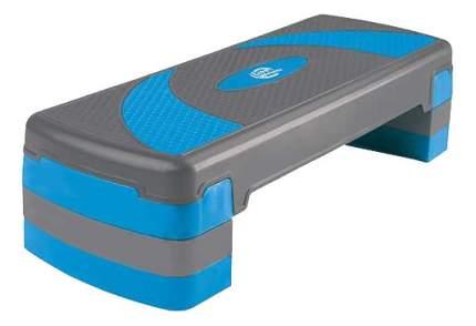 Степ-платформа Lite Weights 1810LW 3 уровня серая/голубая