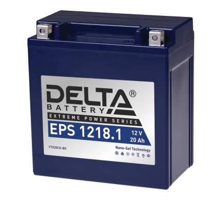 Аккумулятор автомобильный  Delta EPS 1218.1 20 Ач