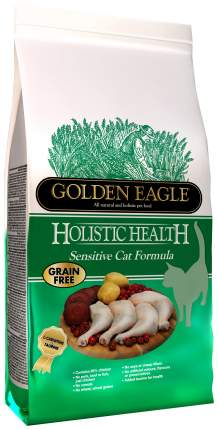 Сухой корм для кошек Golden Eagle Holistic Sensitive, курица, 4кг