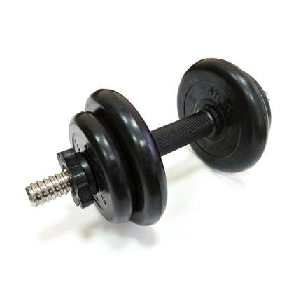 Гантель разборная MB Barbell Atlet 25 мм, 10 кг