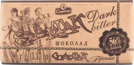 Шоколад горький Спартак 56% 90 г