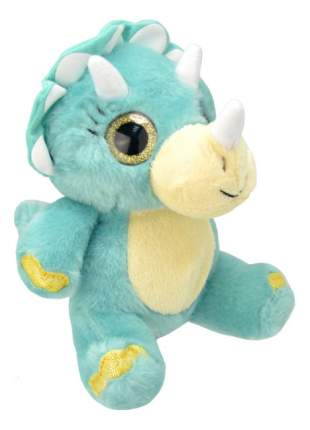 Мягкая игрушка Wild Planet Динозавр трицератопс 19 см k7866
