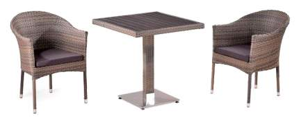 Набор дачной мебели Afina T502DG/Y350G-W1289 Pale 2Pcs
