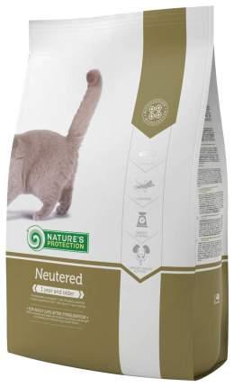 Сухой корм для кошек Nature's Protection NEUTERED, для стерилизованных, птица, 2кг