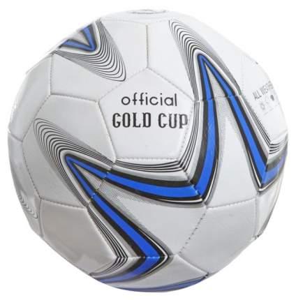 Футбольный мяч Gratwest Official Gold Cup Т73812 №5 white/blue