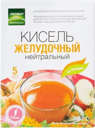Кисель Леовит желудочный нейтральный 20 г 5 пакетиков