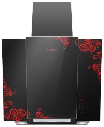 Вытяжка наклонная GEFEST ВО 3603 К16 Red/Black
