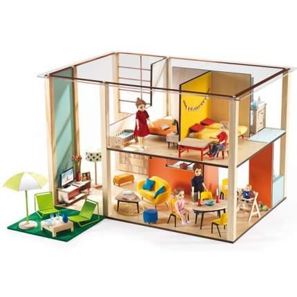 Дом - кубик для кукол Djeco