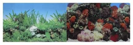 Фон для аквариума Prime Кораллы/Растительный 60х150см