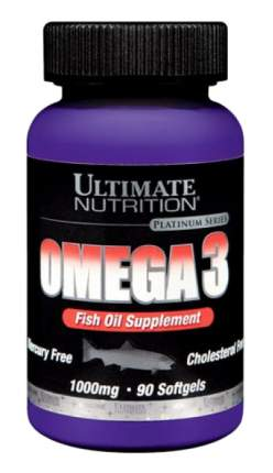 Omega-3 Ultimate Nutrition 90 капс.