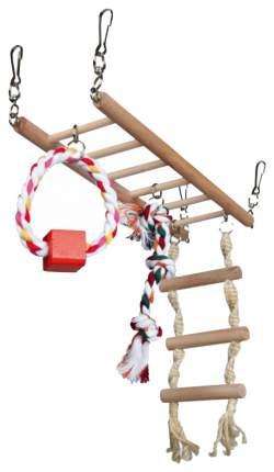 Игровая площадка для грызунов Trixie Suspension Bridge, размер 29×25×9см
