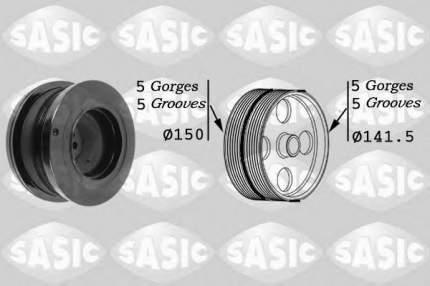 Шкив генератора Sasic 9001812