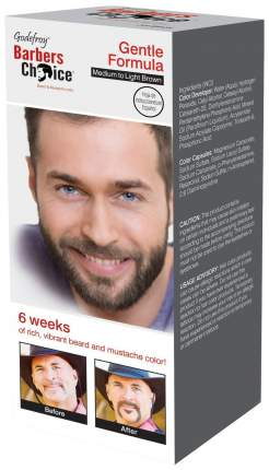 Краска для бороды Godefroy Barbers Choice Medium-Light Brown 33 мл