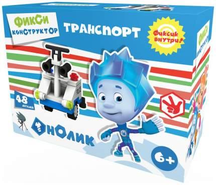Конструктор пластиковый Город игр Фиксики Транспорт Полицейская машина S GI-6269