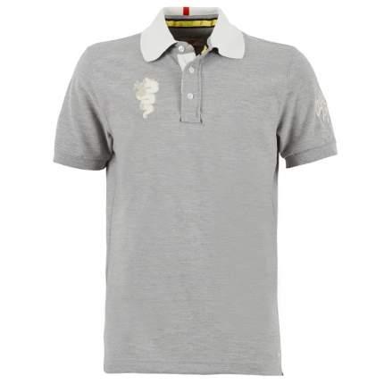 Мужская рубашка поло Alfa Romeo 5916668 Grey Melange
