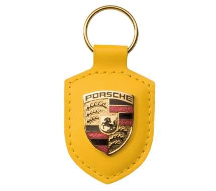 Брелок для ключей с гербом Porsche Crest Keyring WAP0500940E Yellow