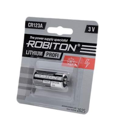 Батарея Robiton Profi R-CR123A-BL1 716-207