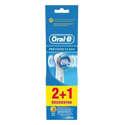Насадка для зубной щетки Braun Oral-B EB20 Precision Clean 2+1 шт