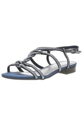 Сандалии женские Marco Tozzi 2-2-28103-20-896/220 синие 40 RU