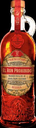 El Ron Prohibido Reserva Solera Blended Mexican Rum 12 YO