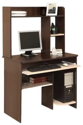 Компьютерный стол Атлант Интел 1 90x60x143 см, бежевый/коричневый