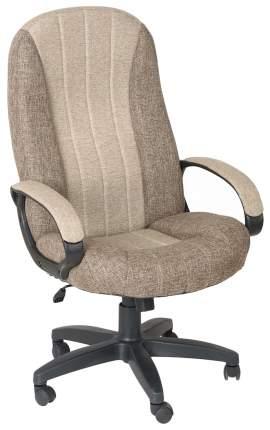 Кресло руководителя OLSS HOME ГАРМОНИЯ CH 685 Бежевое/коричневое