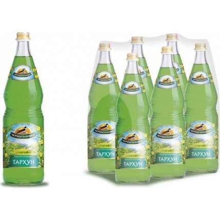 Газированный напиток Напитки из Черноголовки Тархун стекло 1 л упаковка 6 шт