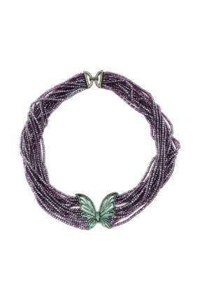 Колье женское DONNA LORENA РКЛ400003 фиолетовое
